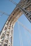 桥梁乔治塔华盛顿 库存照片