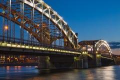 桥梁了不起的彼得 免版税图库摄影