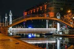桥梁云香de CrimA©ee在巴黎 免版税库存照片