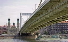 桥梁伊丽莎白 免版税库存照片