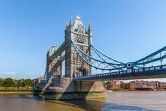桥梁伦敦塔英国 桥梁是其中一个最著名的地标在大英国,英国 免版税库存图片
