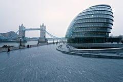 桥梁伦敦塔英国 免版税库存照片