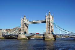 桥梁伦敦塔英国 库存图片