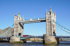 桥梁伦敦塔英国 免版税库存图片