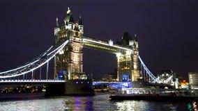 桥梁伦敦塔 影视素材