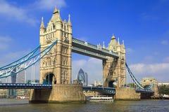 桥梁伦敦塔 库存图片
