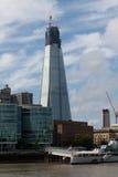 桥梁伦敦碎片 免版税库存图片