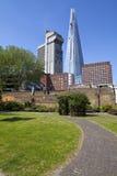 桥梁伦敦碎片 免版税图库摄影