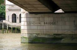 桥梁伦敦 图库摄影