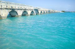 桥梁佛罗里达关键字 免版税图库摄影