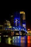 桥梁佛罗里达杰克逊维尔大街 免版税库存图片
