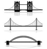 桥梁例证 库存图片