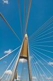 桥梁兆吊索泰国 库存图片
