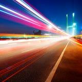 桥梁光线索 免版税图库摄影