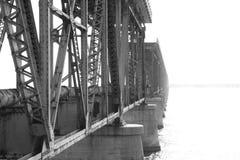 桥梁光 库存图片