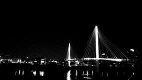 桥梁光 免版税库存图片