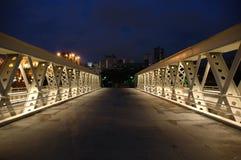 桥梁克拉克码头 免版税库存照片