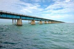 桥梁关键老对西部 免版税库存图片