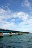 桥梁关键老对西部 免版税图库摄影