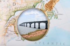 桥梁加拿大联邦 免版税库存照片