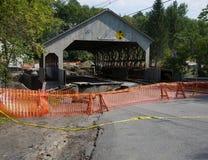 桥梁包括艾琳quechee 免版税库存图片