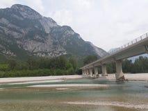 桥梁北部意大利 免版税库存照片