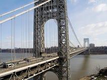 桥梁千兆瓦视图 图库摄影