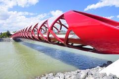桥梁卡尔加里和平s 库存图片