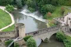 桥梁卢森堡stierchen 库存照片