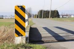 桥梁卫兵铁路运输偏转器 免版税图库摄影
