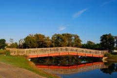 桥梁反映 库存图片