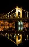桥梁反映 免版税库存照片