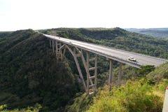 桥梁古巴哈瓦那地区 库存照片