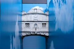 桥梁叹气威尼斯 免版税图库摄影