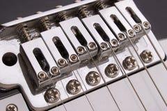 桥梁吉他 免版税库存图片