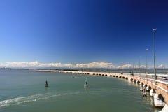 桥梁向威尼斯 免版税图库摄影