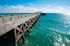 桥梁向andaman的海运 免版税图库摄影