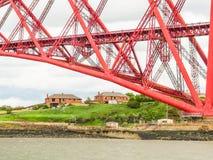 桥梁和峡湾  爱丁堡,苏格兰,英国 库存图片