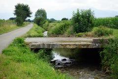 桥梁和运河 免版税库存照片