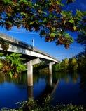 桥梁哈里逊 库存照片
