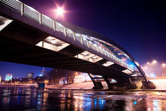 桥梁国王mindaugas 库存照片
