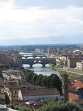 桥梁在佛罗伦萨,意大利 免版税库存照片