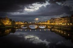 桥梁在佛罗伦萨 免版税图库摄影
