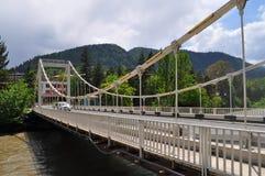 桥梁在博尔若米 免版税图库摄影