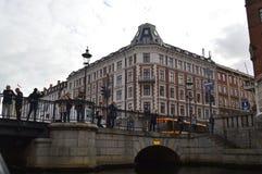 桥梁在哥本哈根 免版税图库摄影
