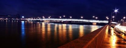 桥梁在圣彼德堡 库存照片