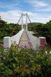 桥梁在垦丁国家公园 免版税图库摄影