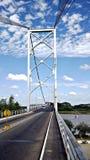 桥梁在委内瑞拉 免版税库存照片