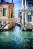 桥梁在威尼斯 免版税库存照片