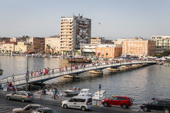 桥梁在扎达尔 免版税库存图片